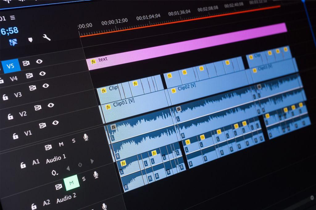 Edición de vídeo en un ordenador