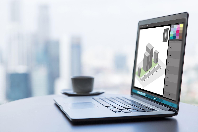 Un portátil para diseño gráfico