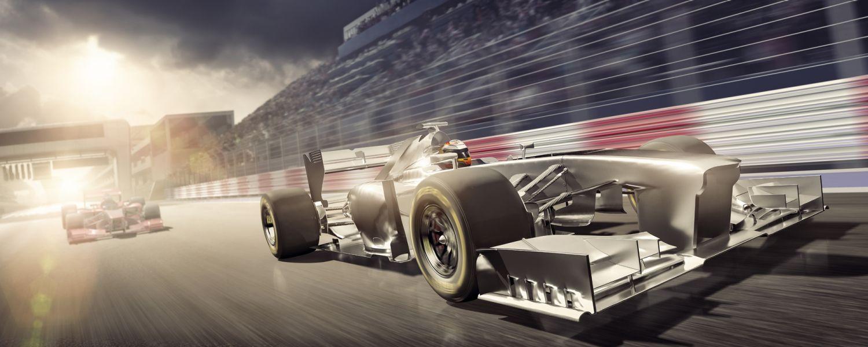 La velocidad de memoria y la latencia CAS se pueden representar como dos coches de carreras