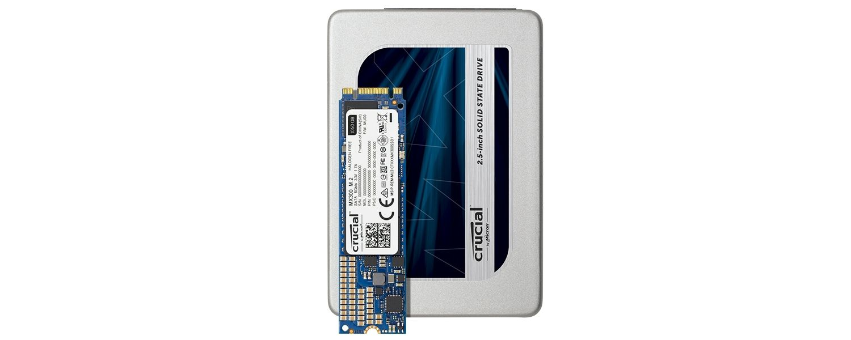 Familia de SSD Crucial MX300
