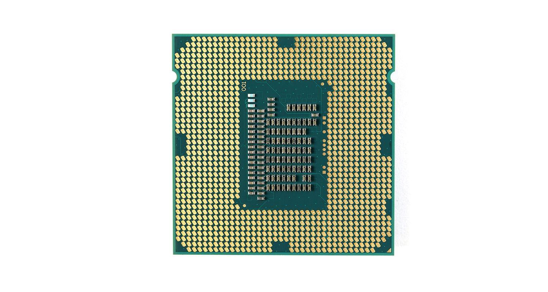 Unidad central de procesamiento (CPU) de un ordenador.