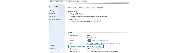 Captura de pantalla del proceso de comprobación de memoria de un ordenador Windows.