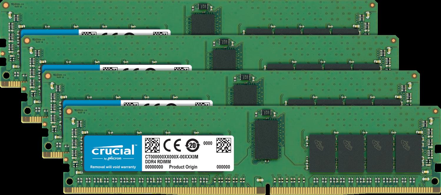 Memoria (RAM) Crucial para un ordenador.