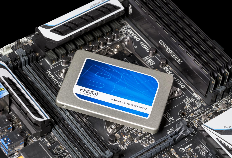 Imagen de la SSD Crucial BX200 de 6,35cm MB 2